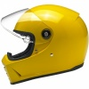 Biltwell Lane Splitter Helmet ECE - Safe-T Yellow