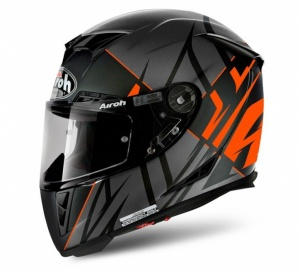 Airoh GP 500 Helmet - Sectors Orange Matt