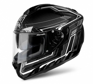Airoh ST 701 Helmet - Full Carbon White Gloss