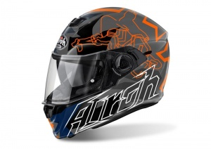 Airoh Storm Helmet - Bionikle Orange Gloss