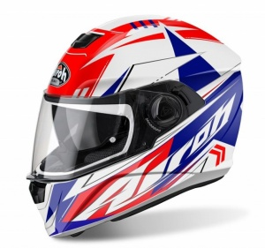 Airoh Storm Helmet - Battle Red Gloss