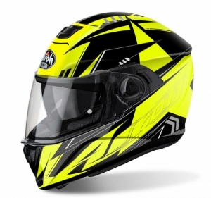Airoh Storm Helmet - Battle Yellow Gloss