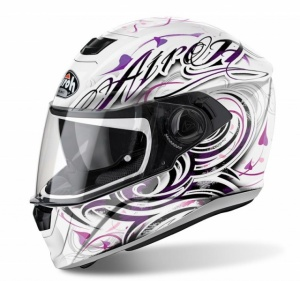 Airoh Storm Helmet - Ladies Poison White Gloss
