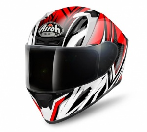 Airoh Valor Helmet - Conquer Red Gloss