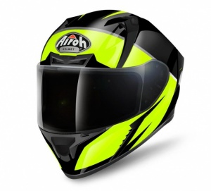 Airoh Valor Helmet - Eclipse Yellow Gloss