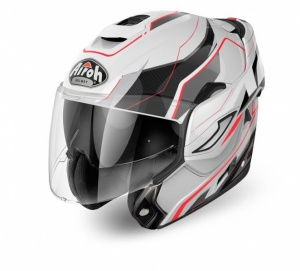 Airoh Rev Helmet - Revolution Gloss White