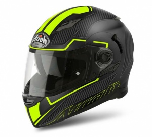 Airoh Movement S Helmet - Faster Yellow Matt