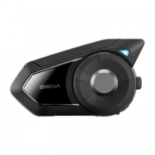 Sena 30K Bluetooth Motorcycle Headset and Intercom with FM Radio and Mesh Technology