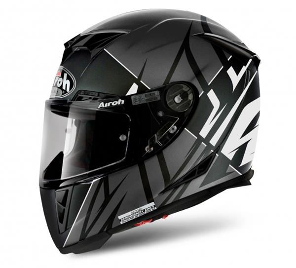 Airoh GP 500 Helmet - Sectors White Matt