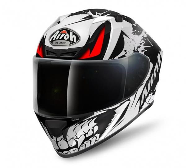 Airoh Valor Helmet - Bone Graphic Matt