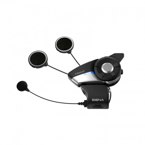 Sena 20S EVO Bluetooth Motorcycle Headset and Intercom with FM Radio